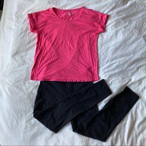 Fabletics Pink T-Shirt